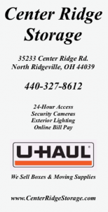 Center Ridge Storage ad