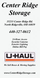Center Ridge Storage ad