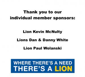 Individual member sponsor AD